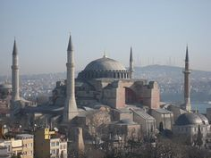 The Haggia Sophia in Istanbul (not Constantinople)