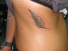 New Zealand Fern Tattoo