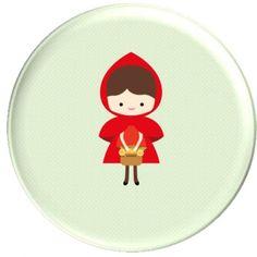 Badges Le petit chaperon rouge