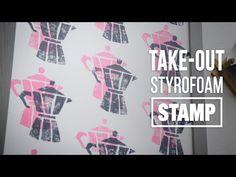 DIY Styrofoam Stamp Pop Art- HGTV Handmade - YouTube