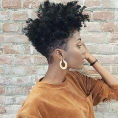 8 Short Natural Haircuts Everyone Is Asking For, Natural Short Hair Cuts Awesome Short Natural Hair For Prom. 8 Short Natural Haircuts Everyone Is Asking For. Short Natural Haircuts, Natural Hair Cuts, Short Hairstyles For Women, Natural Hair Styles, Amazing Hairstyles, Black Hairstyles, Hairstyles 2016, Tapered Natural Hairstyles, Undercut Natural Hair