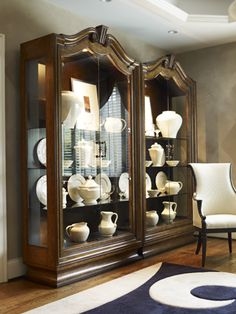 Serious china cabinet