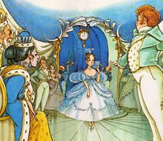 my vintage book collection (in blog form).: Cinderella - illustrated by Hilary Knight