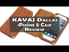 KAVAJ Dallas iPhone 5 Ledertasche Review