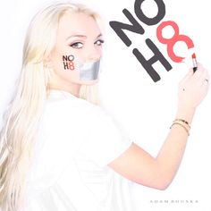Lindsay Lohan, Openly Bi-Sexual Actress, for the NOH8 Campaign by Adam Bouska