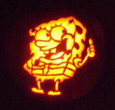 SpongeBob Pumpkin Designs, SpongeBob Birthday Party Door Decorations / Entrance Decors / Signs