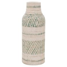"Earthenware Vase - Green (16"") - Threshold™ : Target"