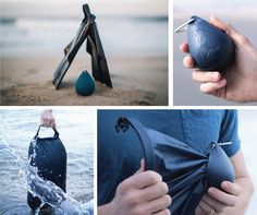 20 Liter fully waterproof dry bag with silicone storage droplet. Easy to have on hand for beaches, travels, or watersports. Droplet XL is a serious ultralight dry bag built from waterproof mater Wilderness Survival, Camping Survival, Survival Gear, Camping Hacks, Camping Gadgets, Survival Quotes, Survival Skills, Kayak Camping, Camping And Hiking