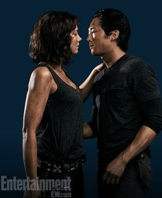 'The Walking Dead': Glenn and Maggie lock lips in exclusive super-hot photo and GIF