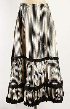 c.1908 Striped Petticoat