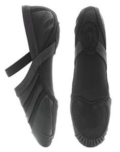 Capezio FF01 Black Freeform. Unique styling allows this shoe to be worn for Ballet, Jazz, Modern and Contemporary Dance. Material: Leather with Nylon Spandex Upper. Available in Black from www.dancinginthestreet.com