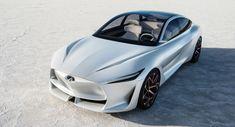 New Infiniti Q Inspiration Sedan Concept Shows Its Face