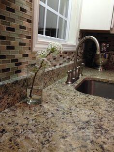 My kitchen backsplash ❤️