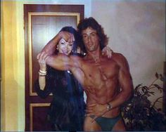 Sylvester Stallone & his mom, Jackie