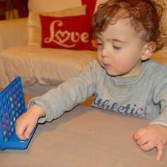 4 em linha Plastic Cutting Board, Yarns, Activities For Babies