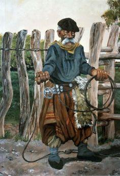 """A Don Segundo"" - Carlos Montefusco Rio Grande Do Sul, Horse Mane Braids, Argentina Culture, Tennessee Walking Horse, Clydesdale Horses, Decoupage Vintage, Geronimo, Cowboy And Cowgirl, Western Art"
