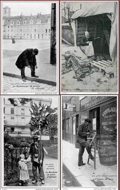 LES PETITS MÉTIERS DE PARIS D ' ANTAN.......BING IMAGES.....