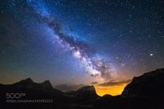 Durmitor dreams  Milkyway galaxy over the Durmitor mountains range.  Image credit: http://ift.tt/29gzWdW Visit http://ift.tt/1qPHad3 and read how to see the #MilkyWay  #Galaxy #Stars #Nightscape #Astrophotography