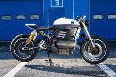 Ein eleganter Renner, aus Italien natürlich: BMW K1100 De Angelis Elaborazioni   Bikebound