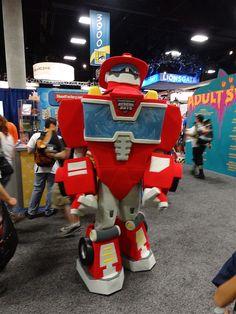 "Transformers ""Rescue Bot"" costume by sebulia, via Flickr"
