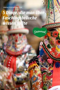 Warum uns der Fasching am Herzen liegt und was man über diese besondere Zeit in der Steiermark wissen sollte, das verraten wir gerne vor den Faschingstagen. Vom Faschingsrennen über Flinserl-Figuren bis hin zum traditionsreichen Fastengebäck. Friendship Bracelets, Kustom, Figurines, Do Your Thing, Culture, City, Knowledge, Friend Bracelets