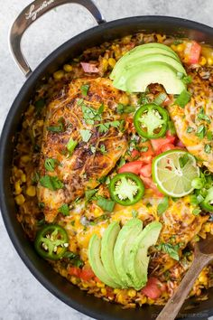 One Pan Southwestern Chicken and Rice | Easy Dinner Recipes | Quick Easy Dinner Ideas | Easy Healthy Recipes