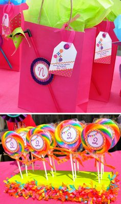 Pinwheels and Polka Dots Party - Inspired by Lalaloopsy dolls - Anders Ruff Custom Designs