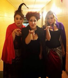 The Sanderson Sisters <3 Mary, Winifred, and Sara!