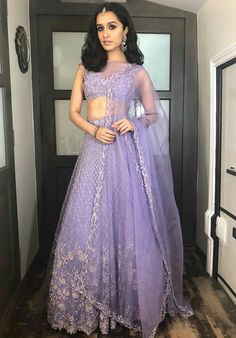 New indian bridal wear purple saree ideas Indian Bridal Wear, Indian Wedding Outfits, Bridal Outfits, Indian Outfits, Indian Clothes, Ethnic Outfits, Trendy Outfits, Indian Attire, Indian Ethnic Wear