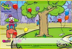 Ayuda a contar a Yaso el payaso. Jugando y aprendiendo juntos: Actividades para el verano 2014 (4 años)