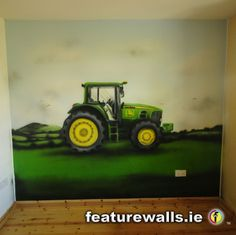 john deere boys room decor | MURALS MURALS MURALS