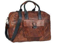 0d79f8118478e Reisetaschen aus Leder für Herren und Damen. Aus pflanzlich gegerbten  Ledern jetzt online kaufen ✓ OrdnungUndMehr.com