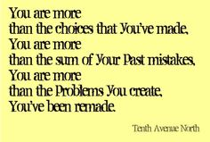 you are more...