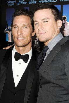 Channing Tatum&Matthew McConaughy... This photo has to much sexiness going on