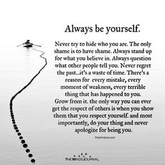 Always Be Yourself-- Always Be Yourself – themindsjournal. Poem To My Daughter, Love My Daughter Quotes, My Son Quotes, Sister Quotes, Quotes For Kids, Words Quotes, Life Quotes, Poems For Daughters, Sayings