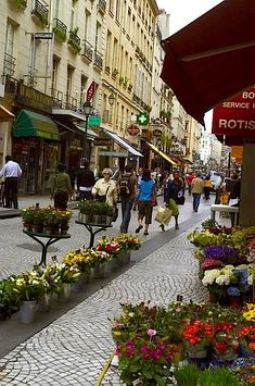 Rue Montorgueil - sounds like such a magical and lively street