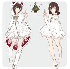 Resultado de imagen para anime chicas ropa linda