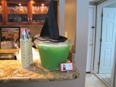 Wizard of Oz themed party details...melted wicked witched punch