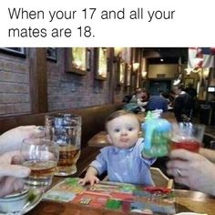 How I Feel Being Younger Than Most Of My Friends. ~ Memes curates only the best funny online content. Memes Humor, Jokes, Sarcasm Meme, Sarcastic Humor, Video Humour, Funny Quotes, Funny Memes, Funny Comebacks, Funny Tweets