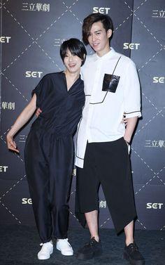 陳楚河(右)與賴雅妍將前進日本會粉絲。記者陳瑞源/攝影