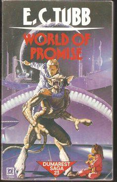 E. C. Tubb. World of Promise. Dumarest Saga 23.