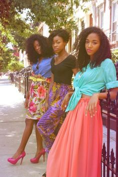 lovelyandbrown:    what the hell are you waiting for?    Black Girls Killing ItShop BGKI NOW