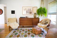 Binnenkijken in een hippie bungalow