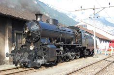 "Steamlocomotive C 5/6 ""Elephant"", Swiss Federal Railways"