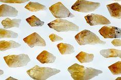 Citrine Gemstone Point - Solar Gemstone of Cleansing Power