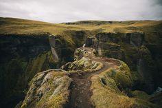 Fjaðrárgljúfur. South Iceland.