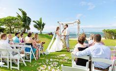 A perfect Hawaii wedding: http://www.borrowedandblue.com/hawaii/weddings/trina-john