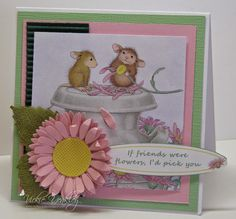 On The Fringe: House Mouse and Friends Monday Challenge 188 - Friends