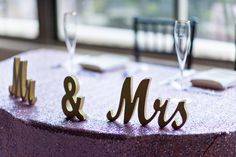 cute signs for sweetheart table