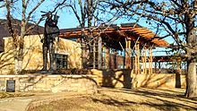 Chickasaw Cultural Center museum in Sulpher, Ok